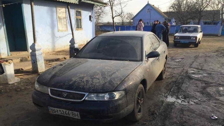 викрадачі автомобілю в Арцизькому районі - 1