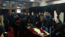 Прощання із поліцейським Сергієм Пригаріним - Одеса