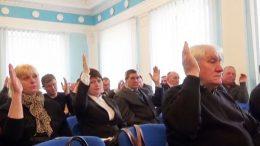 Ширяївська районна рада - сесія