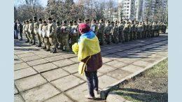 Воїни 28-ої окремої механізованої бригади - Одеса