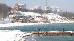 Зима - Одеса