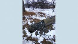 пошкоджено 1100 опор повітряних ліній електропередач