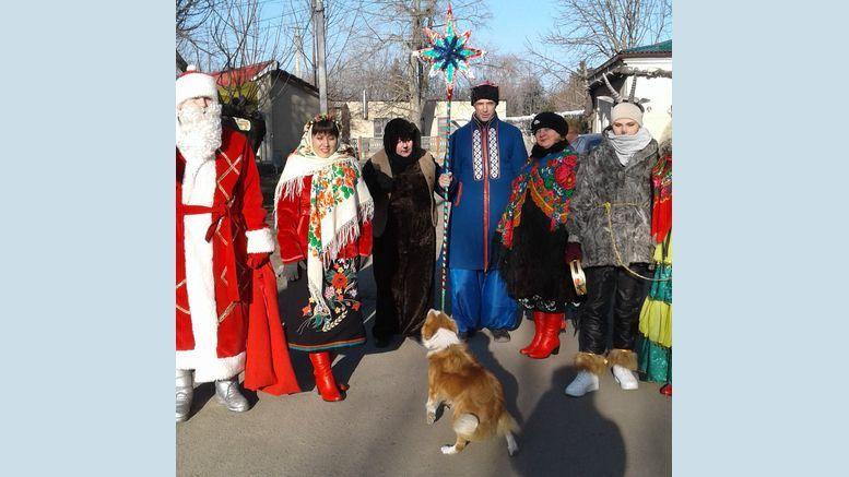 працівники будинку культури - Велика Михайлівка - щедрівки