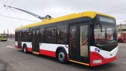 современные троллейбусы - Одесса