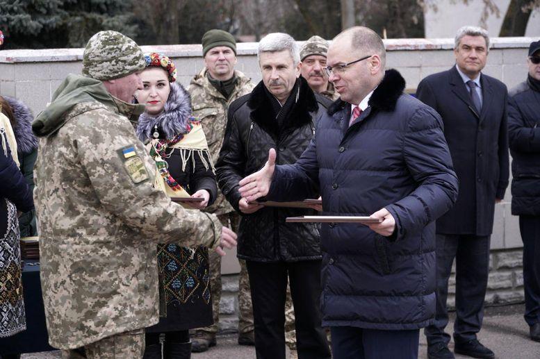 воїни 28-ої окремої механізованої бригади - нагородження- 2