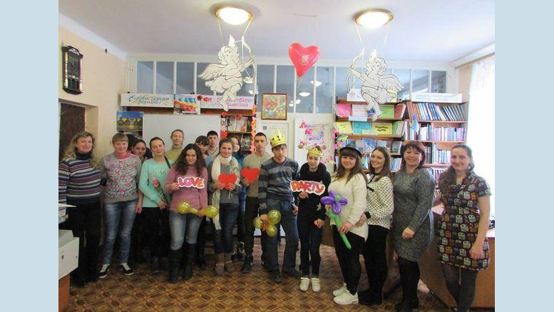 День святого Валентина - «Love - party» - Татарбунари