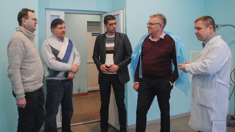 Олександр Остапенко - робочий візит - Балтський район - 1