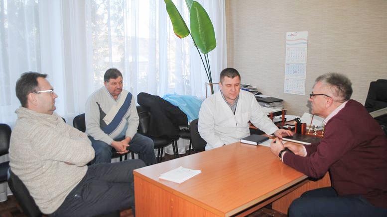 Олександр Остапенко - робочий візит - Балтський район