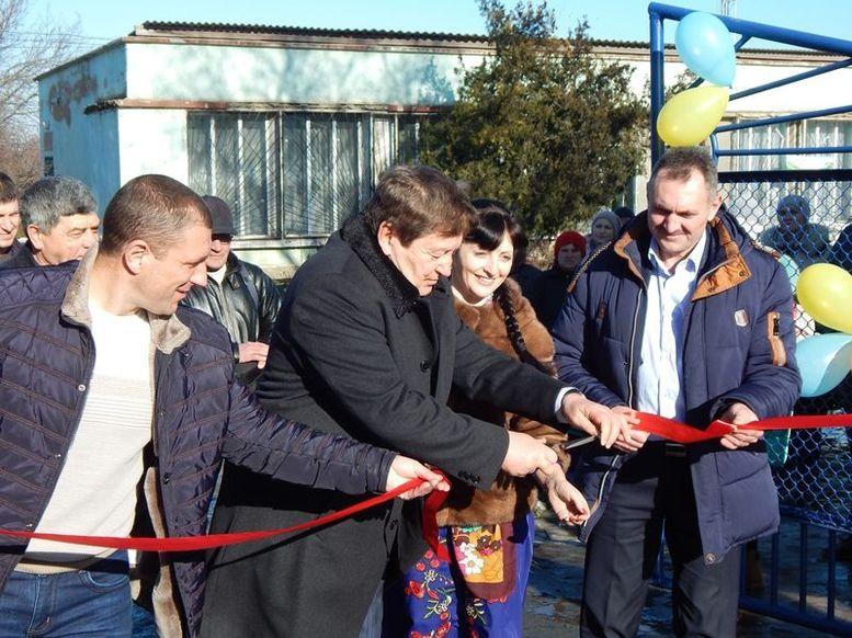 Старая Некрасовка - Измаильский район - открытие спортклуба - 1
