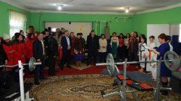 Старая Некрасовка - Измаильский район - открытие спортклуба