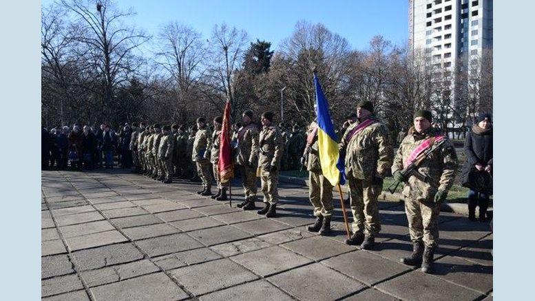 Військовослужбовці 28-ї окремої механізованої бригади - хода - Одеса