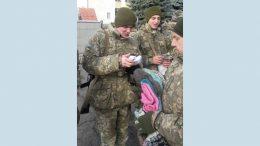 допомога військовослужбовцям - Южне