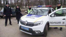 новий автомобіль Renault Sandero Stepway - поліція - Велика Михайлівка