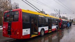 новые белорусские троллейбусы - Одесса