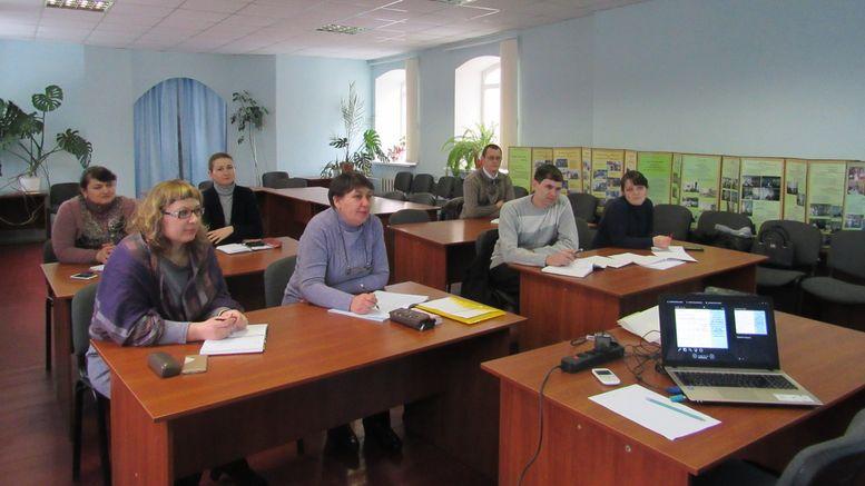 семінар для відповідальних за ЗНО - Окнянський район - 1