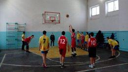 змагання обласної спартакіади з баскетболу серед юнаків - Одеська область
