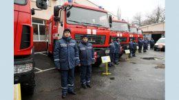 Нова пожежно-рятувальна та спеціальна техніка
