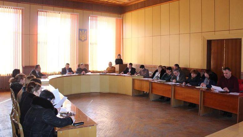 Окни - засідання колегії райдержадміністрації
