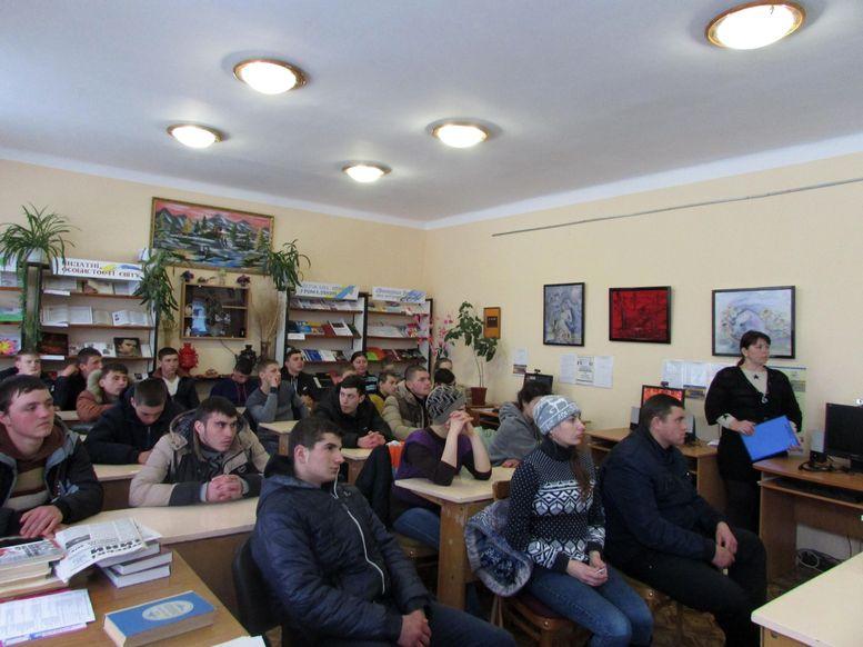 Татарбунарська центральна районна бібліотека - зустріч «Зупинимо туберкульоз» - 2