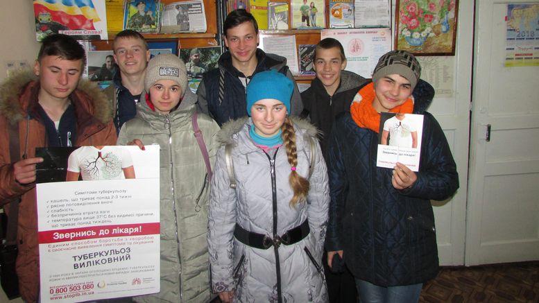 Татарбунарська центральна районна бібліотека - зустріч «Зупинимо туберкульоз»