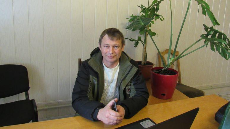 Володимир БЕСАРАБ, директор СГ ТОВ «Надія України»