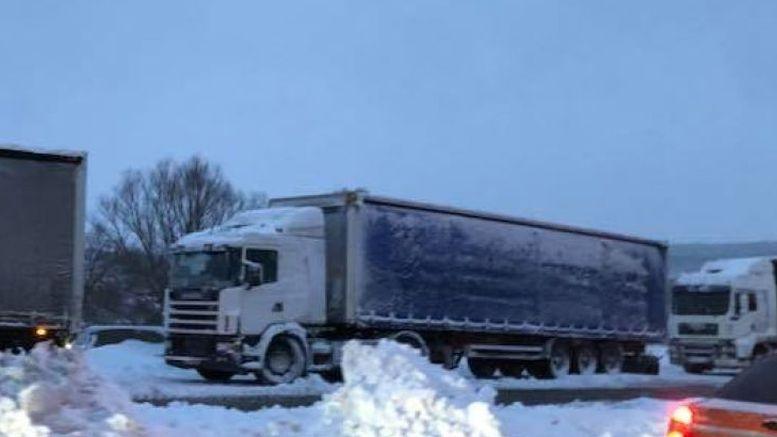 обмежено рух вантажівок - Одеська область