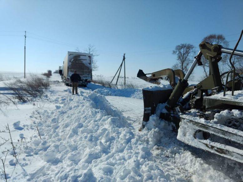 розчищення доріг від снігу - Білгород-Дністровський - 1