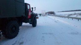 ускладнення руху - вантажівки - Одеська область