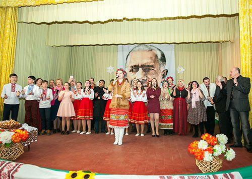 110 річниця гумориста Степана Олійника - Миколаївка - 2