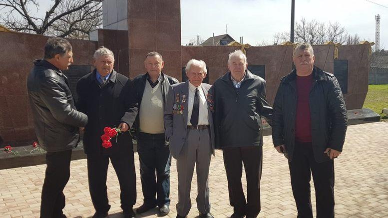 74 річниця визволення Лиманського району від фашистських загарбників