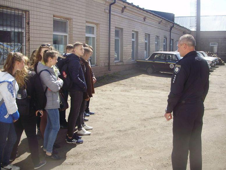 Декада профорієнтації - служба в поліції
