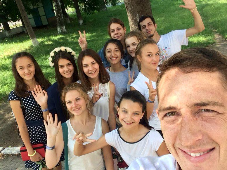 Корпус Миру - волонтери - Саврань - 2