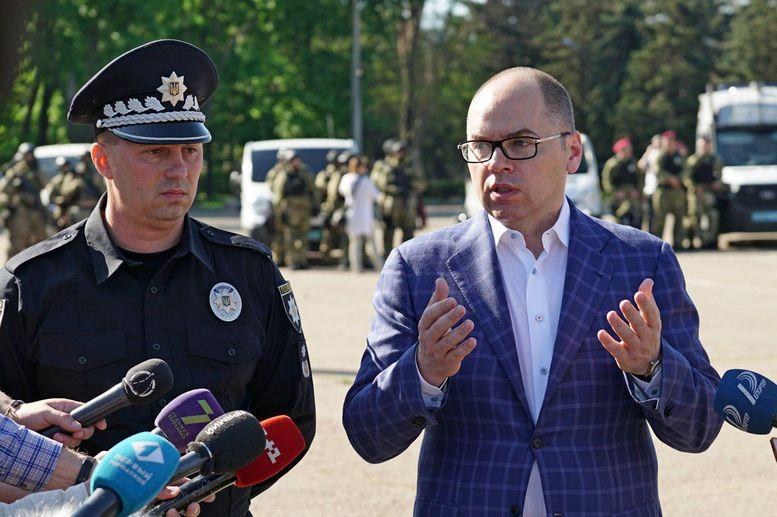 МВС- посилений режим несення служби - Одеса - Максим Степанов