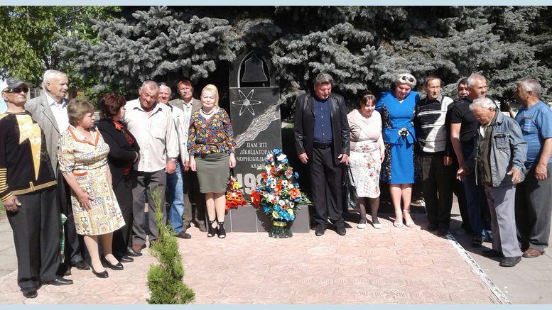 Мітинг-реквієм - 32-річниця Дня Чорнобильської аварії - Велика Михайлівка