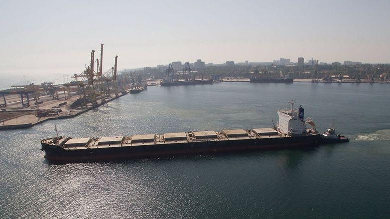 Морський порт Чорноморськ - вантажообіг