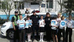 Уроки по безопасности дорожного движения - Измаильский отдел полиции
