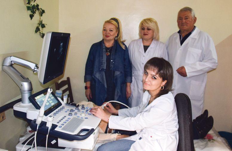 Великомихайлівська центральна районна лікарня - нове обладнання