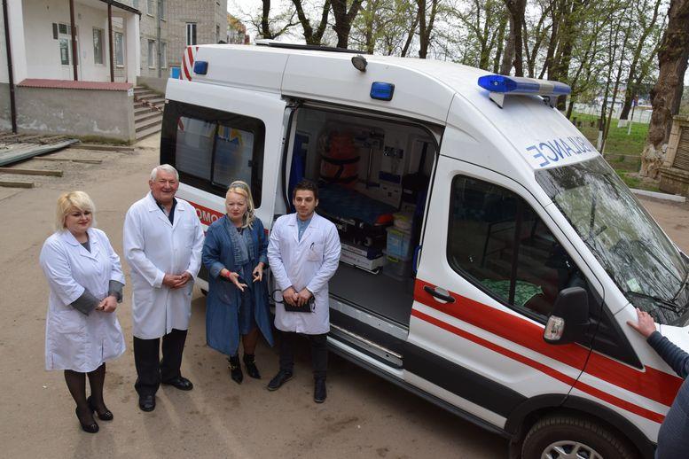 Великомихайлівська центральна районна лікарня - швидка допомога