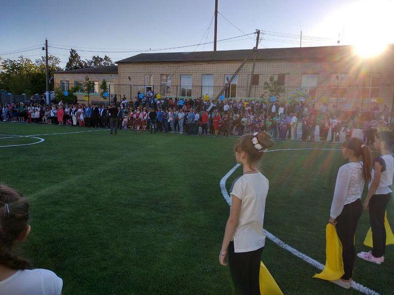 футбольно-спортивний комплекс - відкриття - Виноградівка  - 1