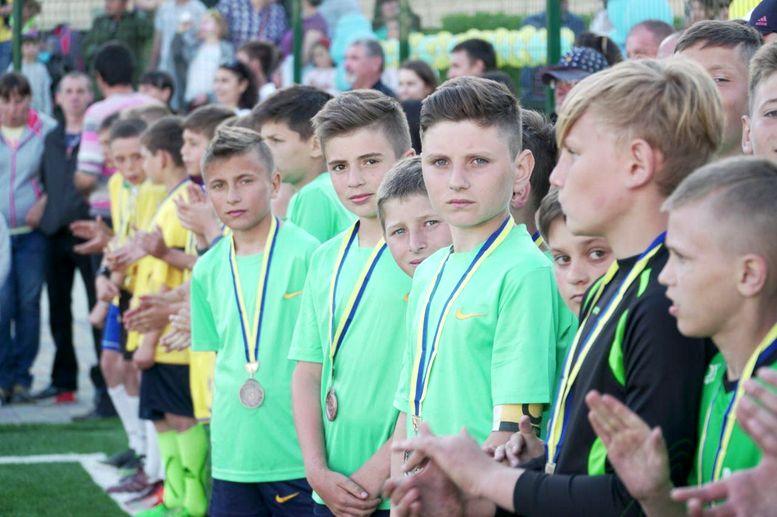 футбольно-спортивний комплекс - відкриття - Виноградівка  - 3