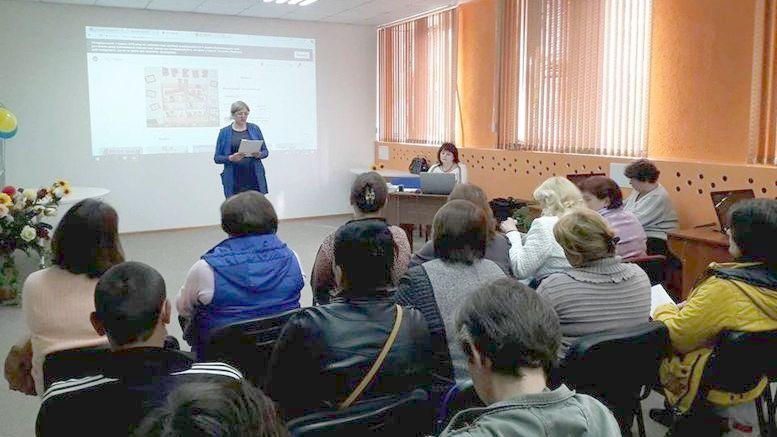 нарада для бібліотечних працівників - Бібліотеки єднають Україну - Окни - 1