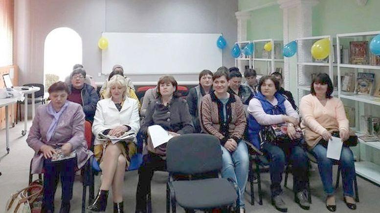 нарада для бібліотечних працівників - Бібліотеки єднають Україну - Окни - 2