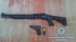 незарегистрированное оружие - Измаил
