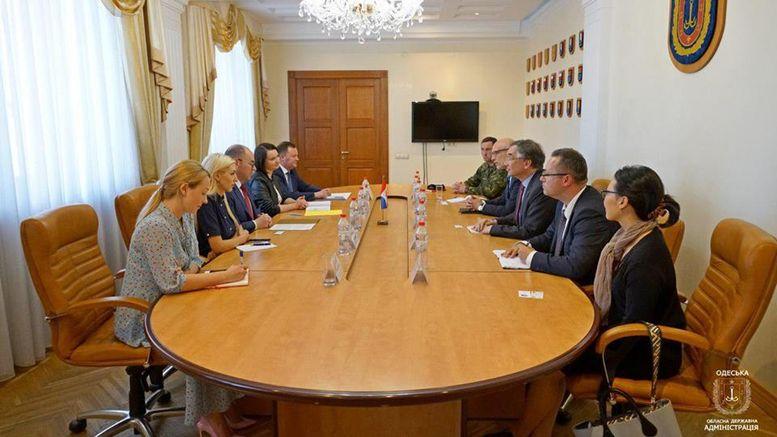 Надзвичайний і Повноважний посол Канади в Україні - зустріч