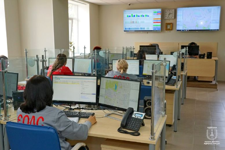 Єдина оперативна диспетчерська служба - Одещина - 1