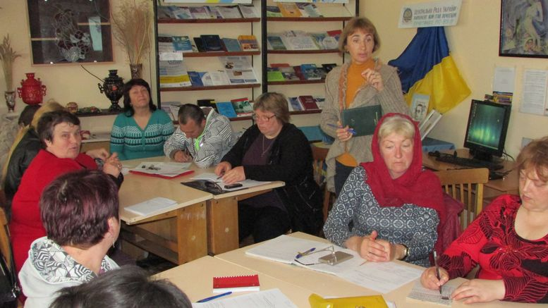 семінар - підвищення кваліфікації - бібліотека - Татарбунари
