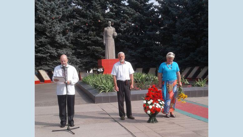 День Скорботи та вшанування жертв війни в Україні - Велика Михайлівка