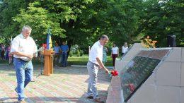 День скорботи і вшанування пам'яті жертв війни - Окни - мітинг