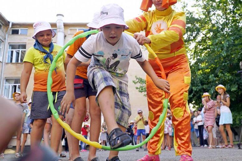Діти із Луганської та Донецької областей - відпочинок - Одеська область - 1
