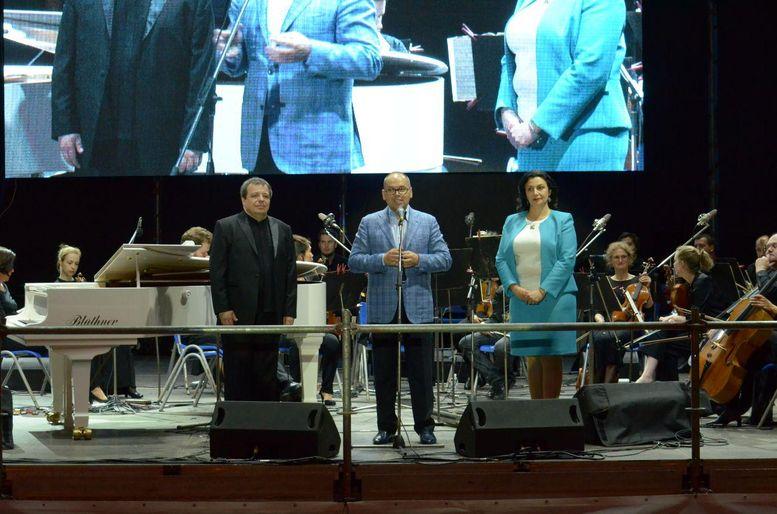 IV Міжнародний фестиваль ODESSA CLASSICS - open-air концерт - Потьомкінські сходи - Одеса - Максим Степанов
